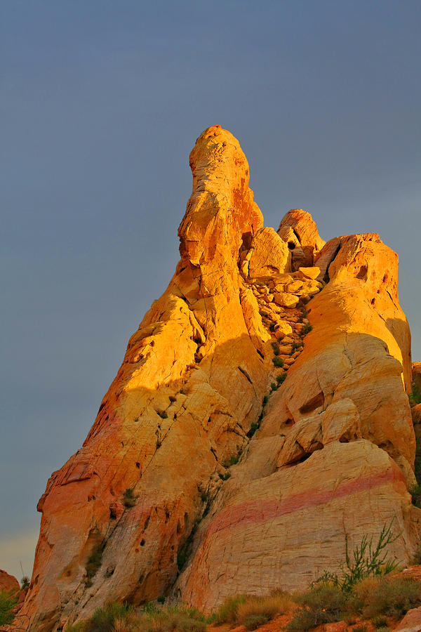Nevada Photograph - Vibrant Valley Of Fire by Christine Till