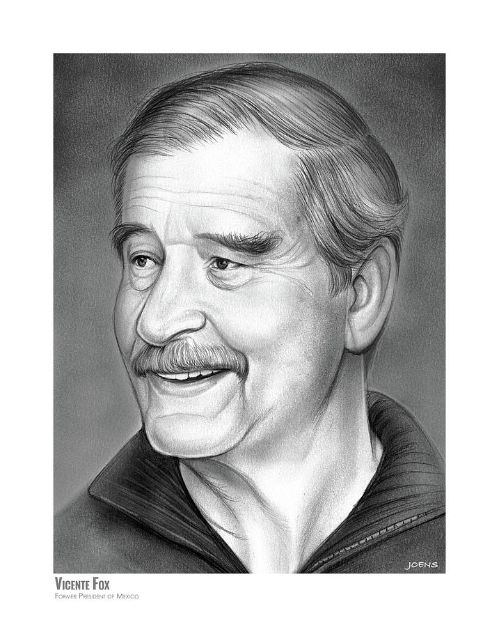 Vicente Fox Drawing
