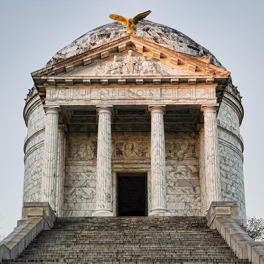 Vicksburg - Illinois Memorial Photograph