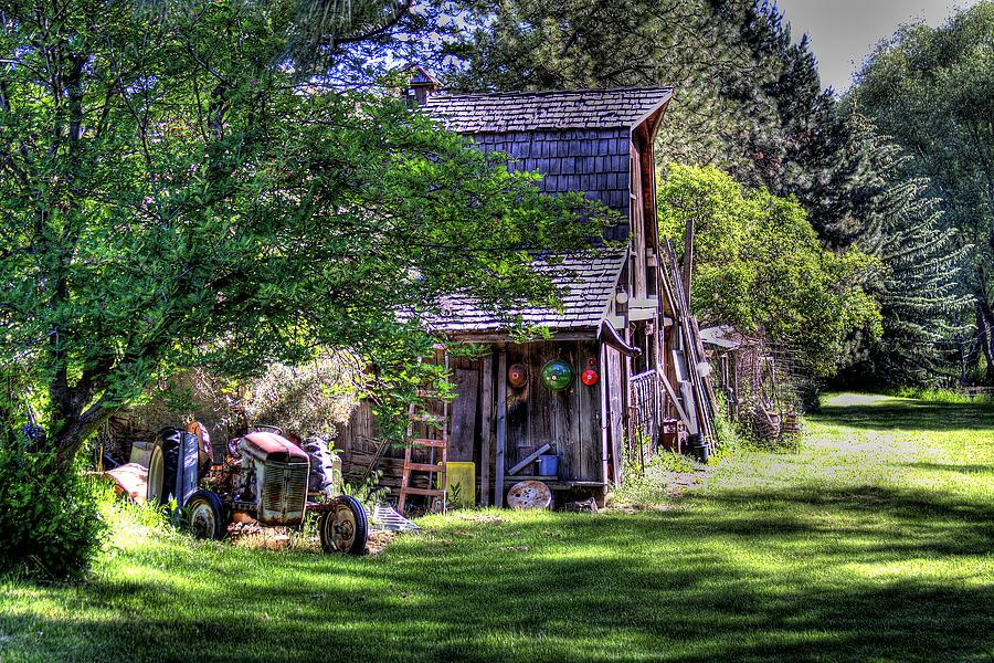 Vics Barn Photograph