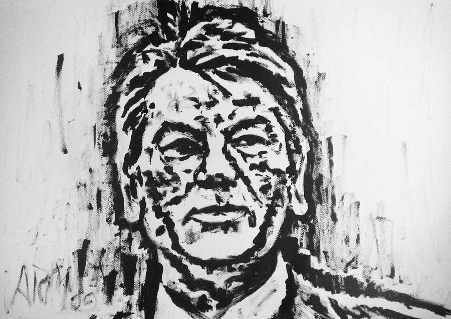 Victor Yushchenko - Ukraine Painting by Alireza Mobtaker