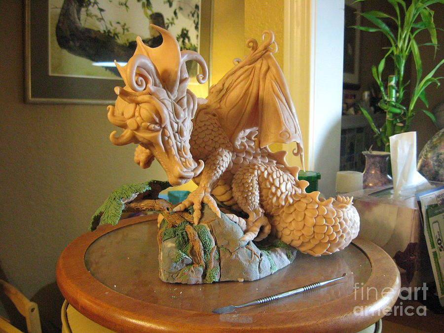 Dragon Sculpture - Victoria by Dianna West