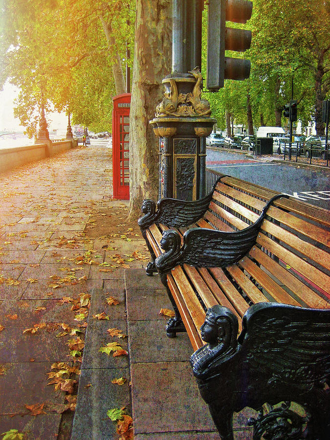 London Photograph - Victoria Embankment by JAMART Photography