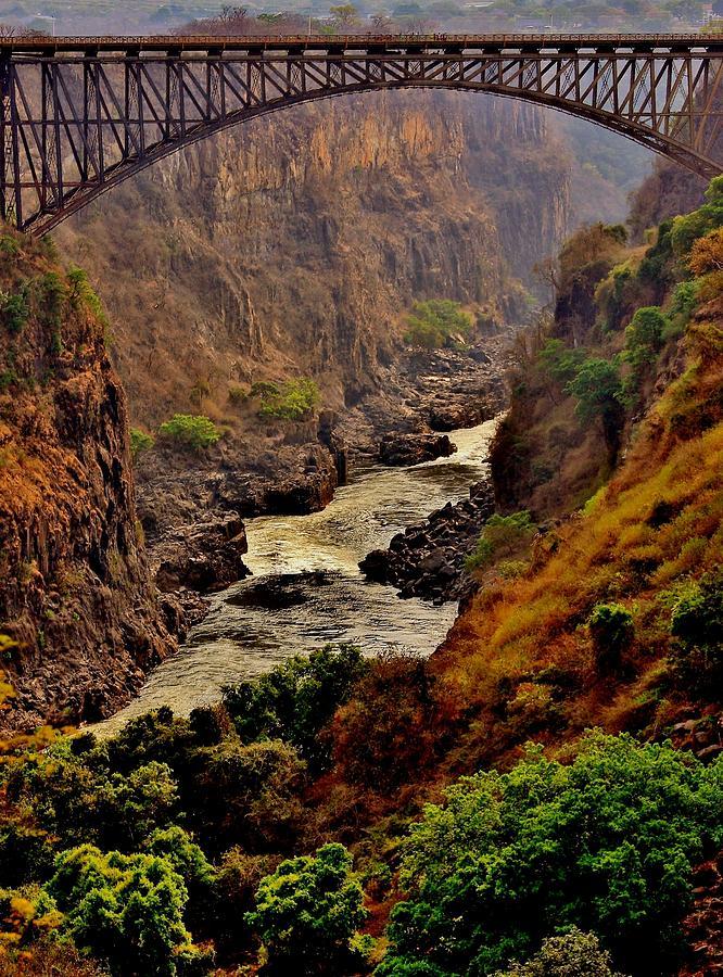 Victoria Falls Bridge Photograph