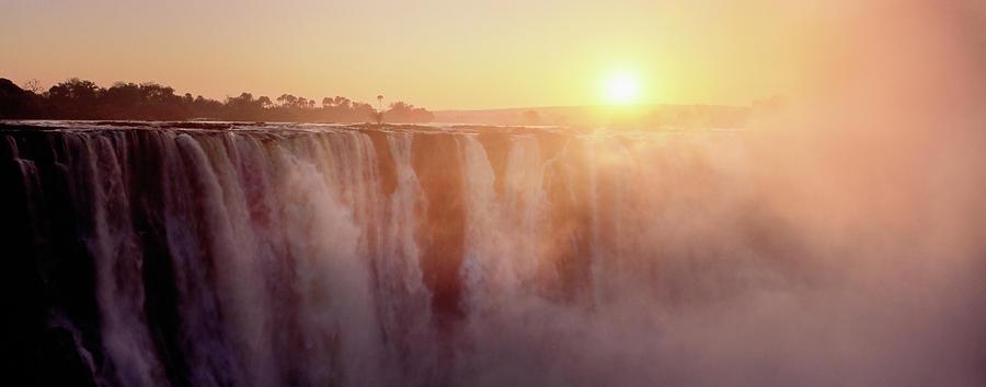 Horizontal Photograph - Victoria Falls, Zimbabwe by Ben Cranke