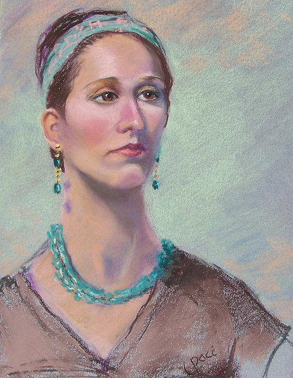 Portrait Painting - Victoria by Laurie Paci