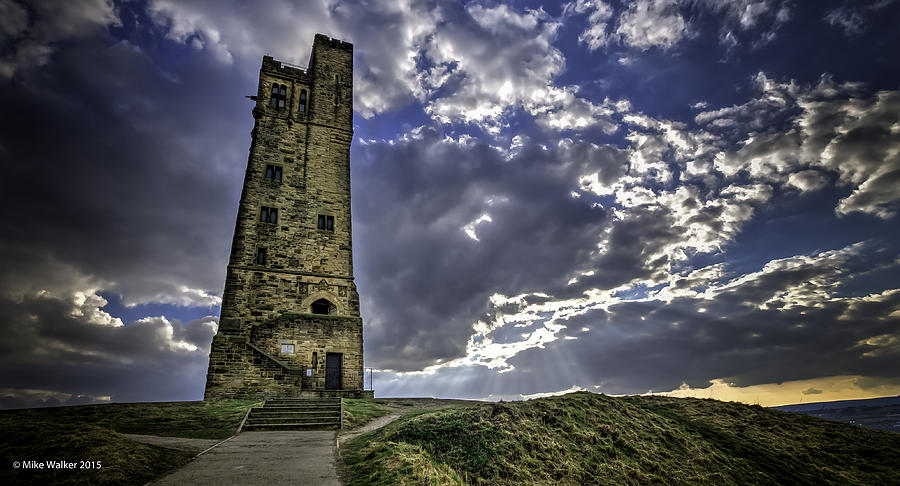 Victoria Tower Castle Hill Huddersfield 3 Photograph