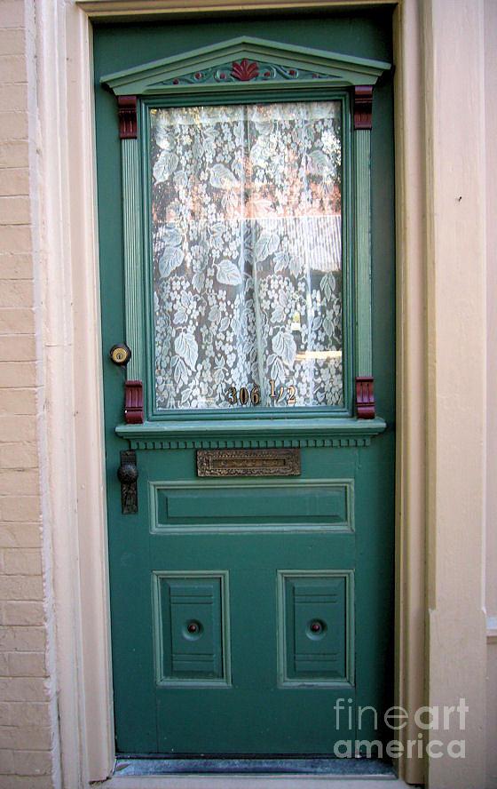 Door Photograph - Victorian Door by Barbara Oberholtzer
