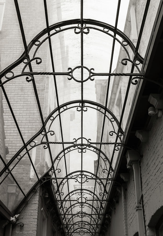 Victorian Photograph - Victorian Glass Roof by Wim Lanclus