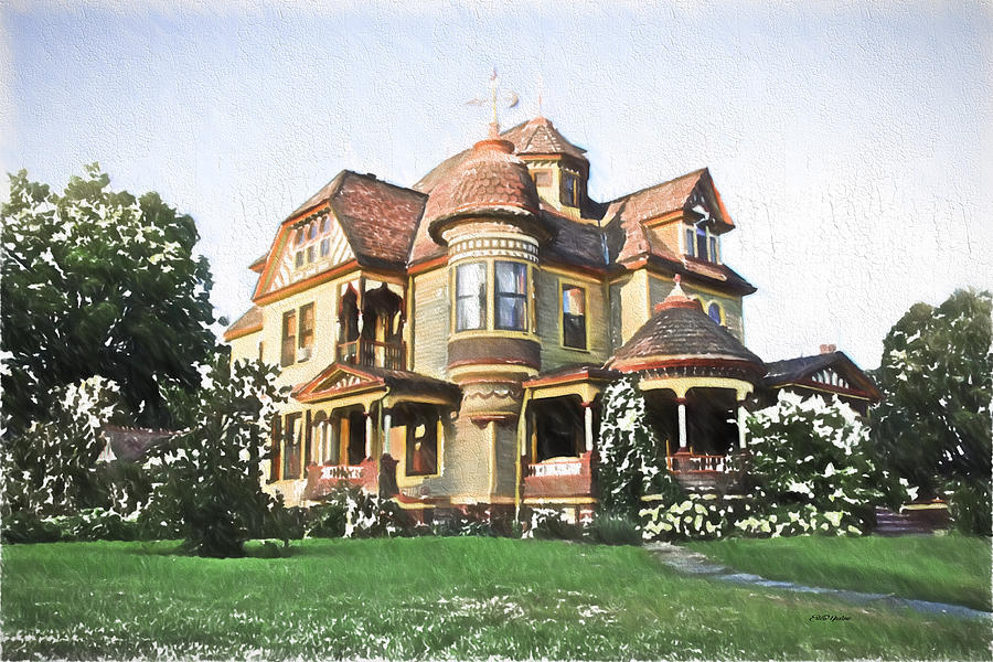 Victorian Photograph - Victorian House by Ericamaxine Price