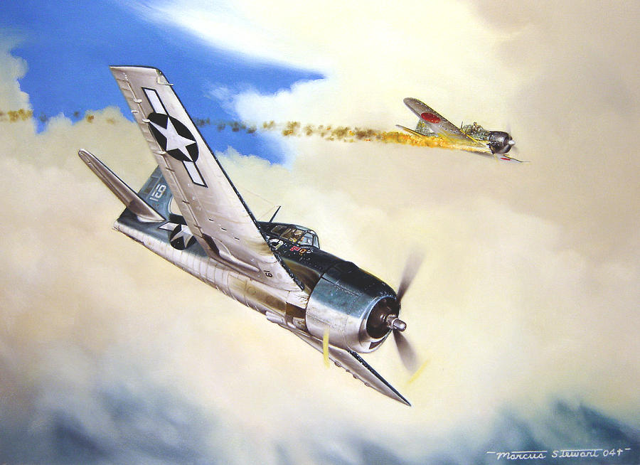 Military Painting - Victory For Vraciu by Marc Stewart