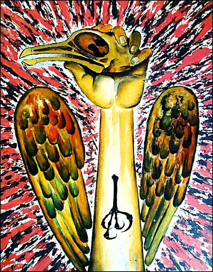 Game Bird Digital Art - Victory Of Perseverance by Paulo Zerbato