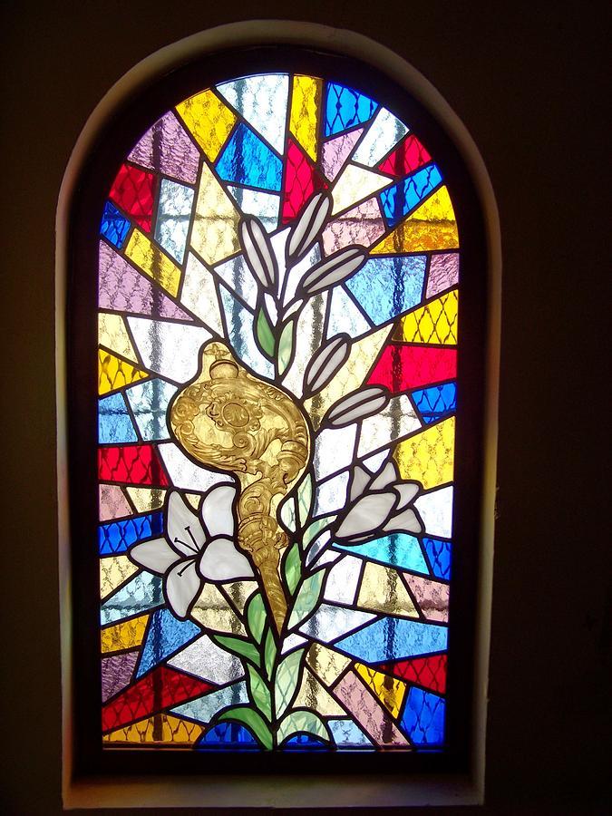 Vidriera Convento De Capuchinos Glass Art by Justyna Pastuszka