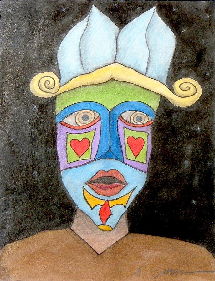 Viejo Mask by Michael Sharber