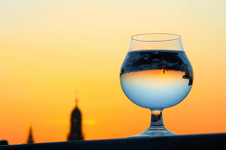 Vienna - Sunset in a Glass by Jonny Jelinek