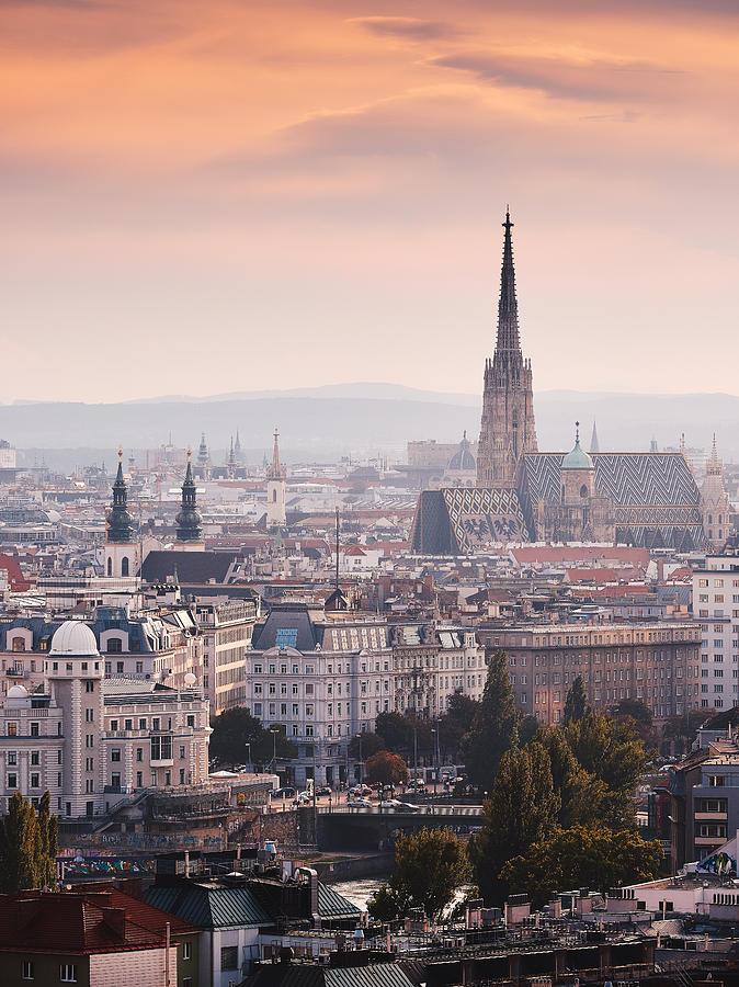 Viennese Sunset Photograph