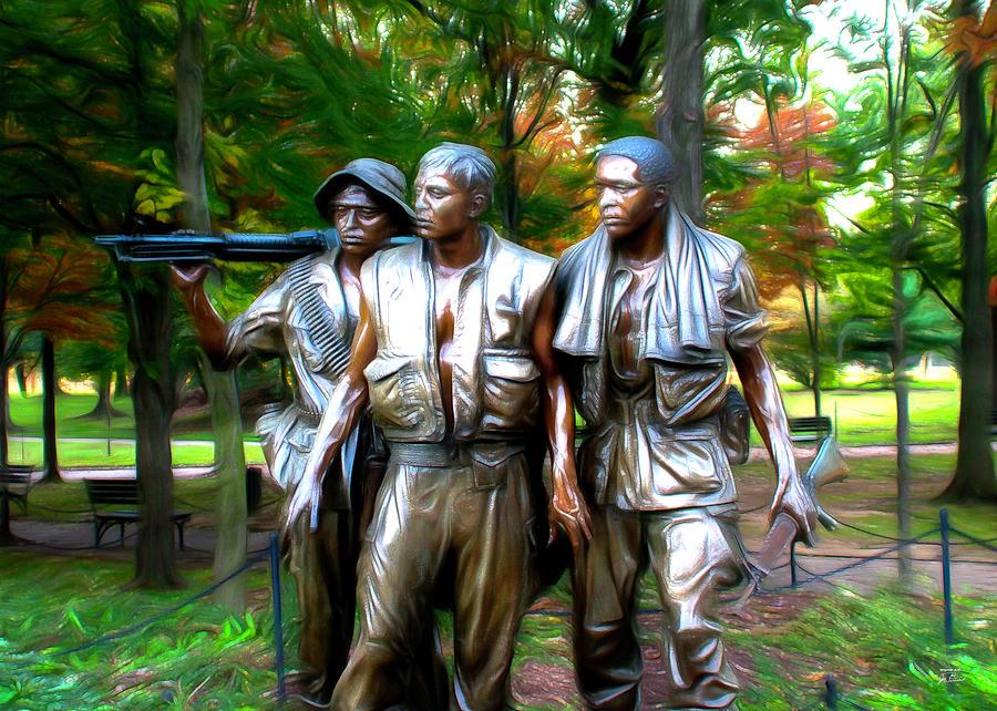 Viet Nam Memorial Digital Art
