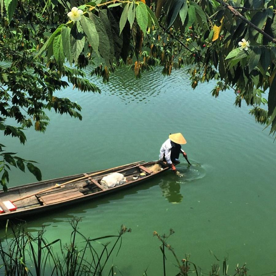 Vietnam Early Morning Fishing  hue 2015 Photograph by Paul Dal Sasso