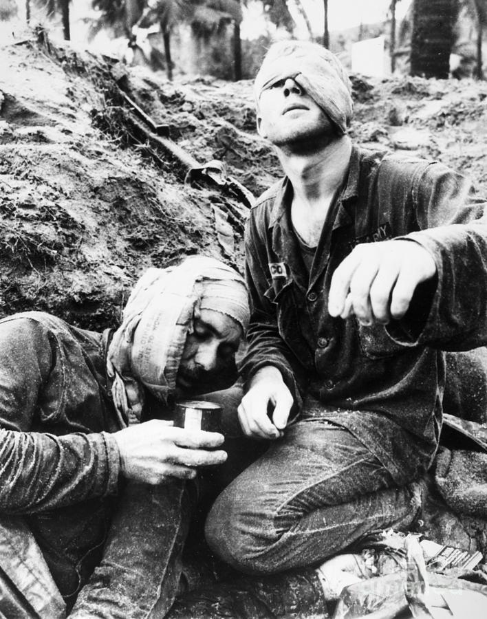 1966 Photograph - Vietnam War Medic 1966 by Granger