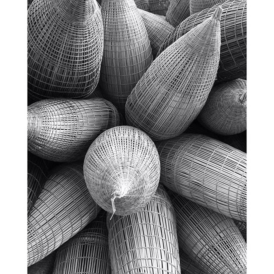 Instagram Photograph - Vietnamese Baskets Photo By by Paul Dal Sasso