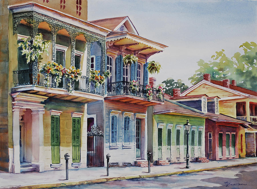 French Quarter Painting - Vieux Carre by Sue Zimmermann