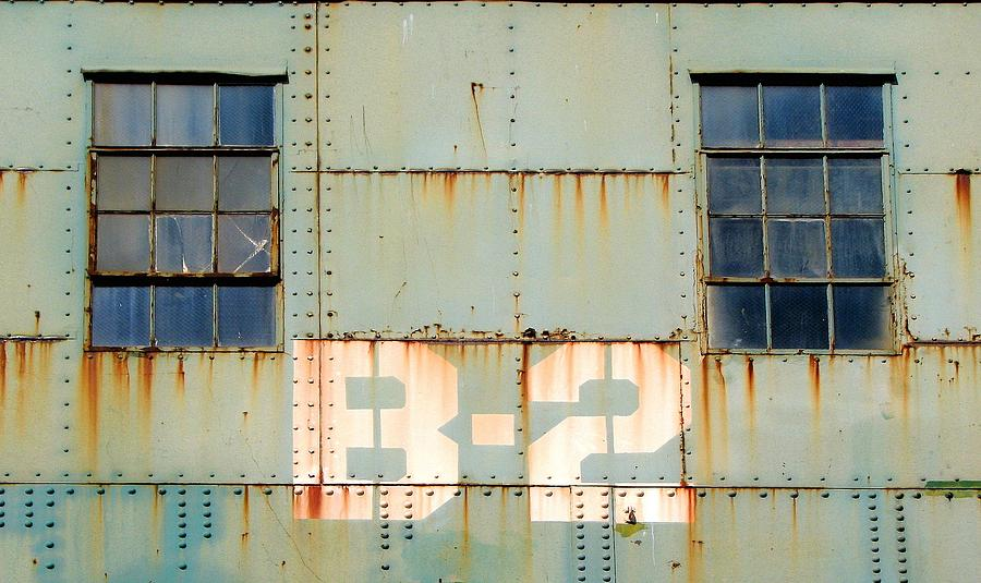 Machinery Photograph - View B-2 by Ben Freeman