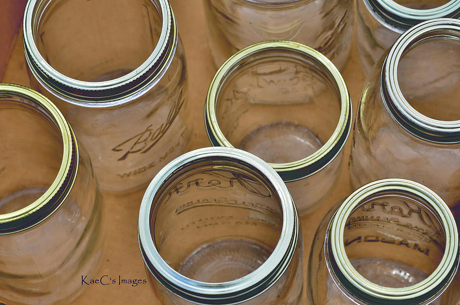 Ball Jars Photograph - View From Above by Kae Cheatham