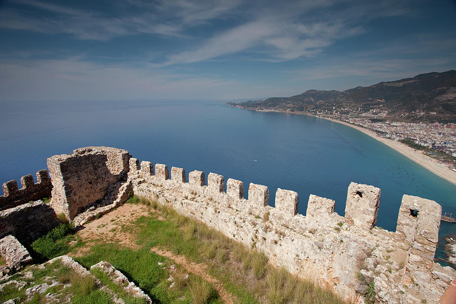 View From Alanya Castle Photograph