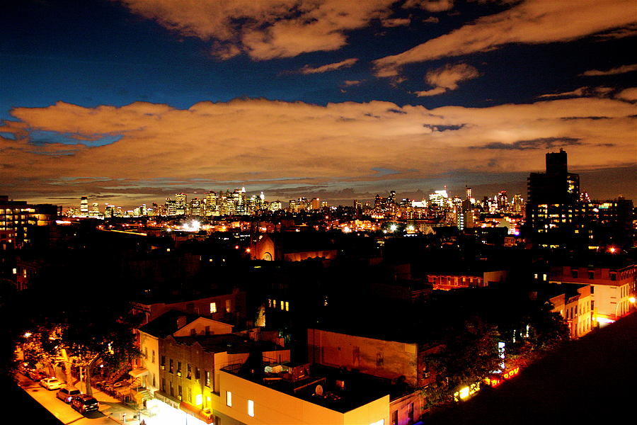View From Brooklyn  Photograph by Brian  Vitagliano