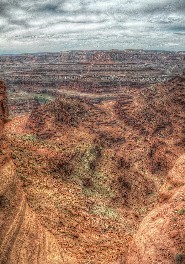 View from Dead Horse Point by Michael Kirk
