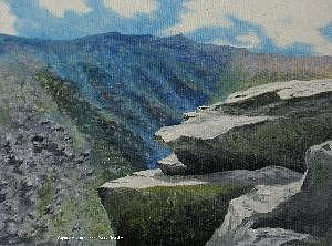 View From Lion Head Painting by John Kosek