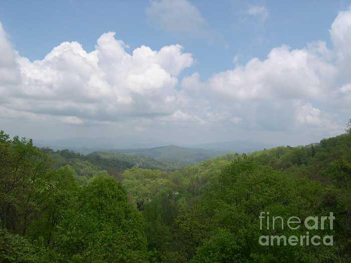 Mountains Photograph - View From Ober Gatlinburg by Barb Montanye Meseroll