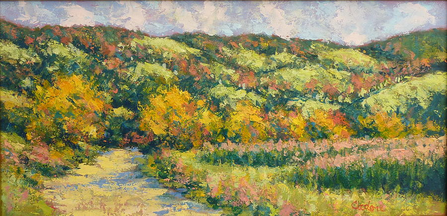View From Pine Plains Painting by Gene Cadore