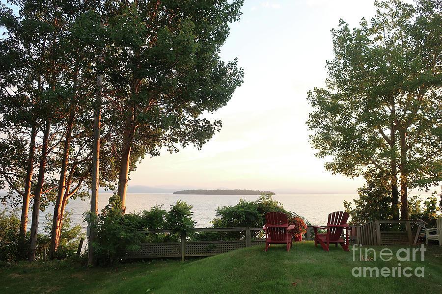 Lake View Photograph - View From Ring Dang Doo South Hero Vermont by Felipe Adan Lerma