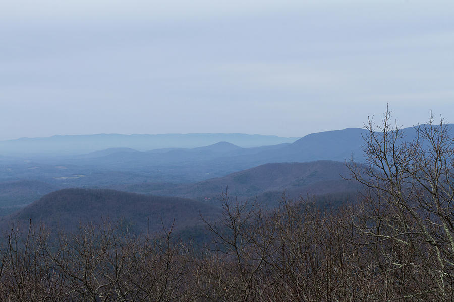 View From Springer Mountain Photograph