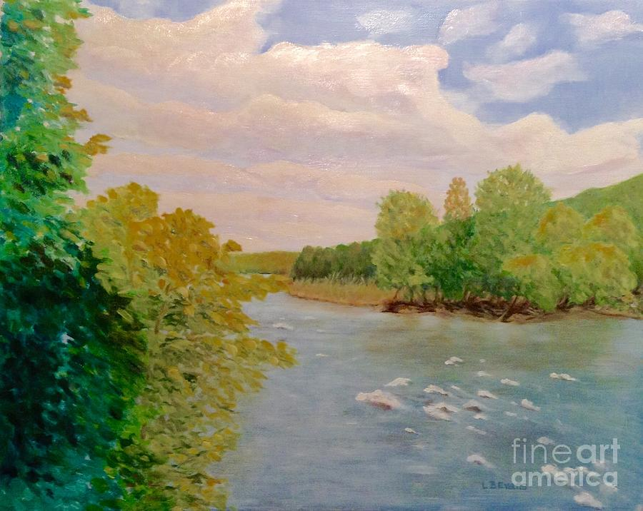 View from Stover Mill by Lynda Evans