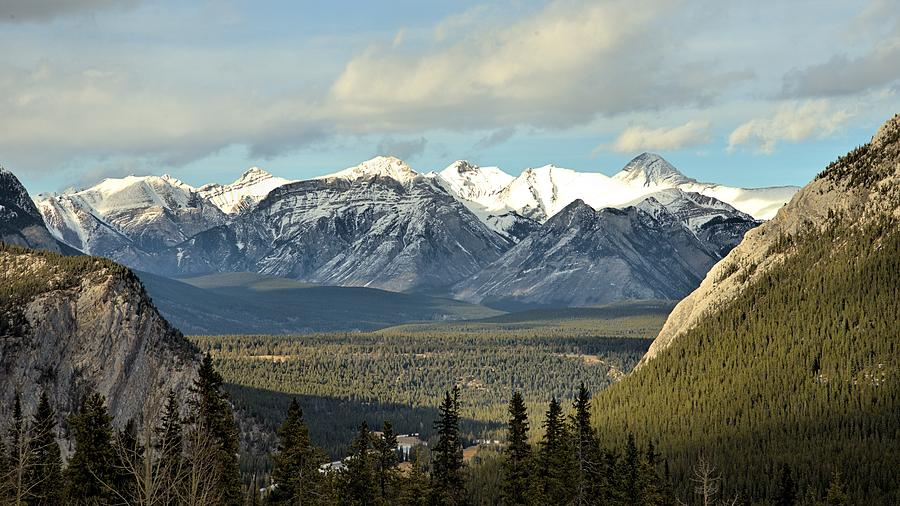Landscape Photograph - View From Sulpher Mountain by Andrew Miles