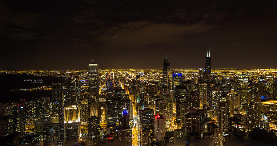 Chicago Photograph - View From The 96th by Holly Carpenter