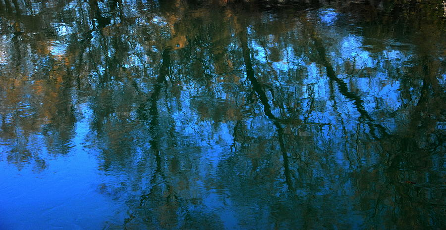 Water Show Blue - Torcello by Jacqueline M Lewis