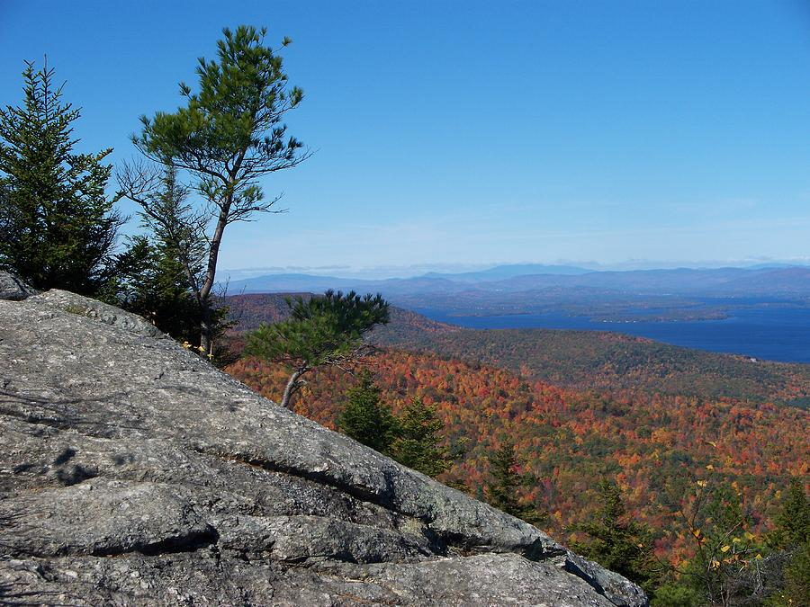Landscapes Photograph - View From The Rock by Rosanne Bartlett