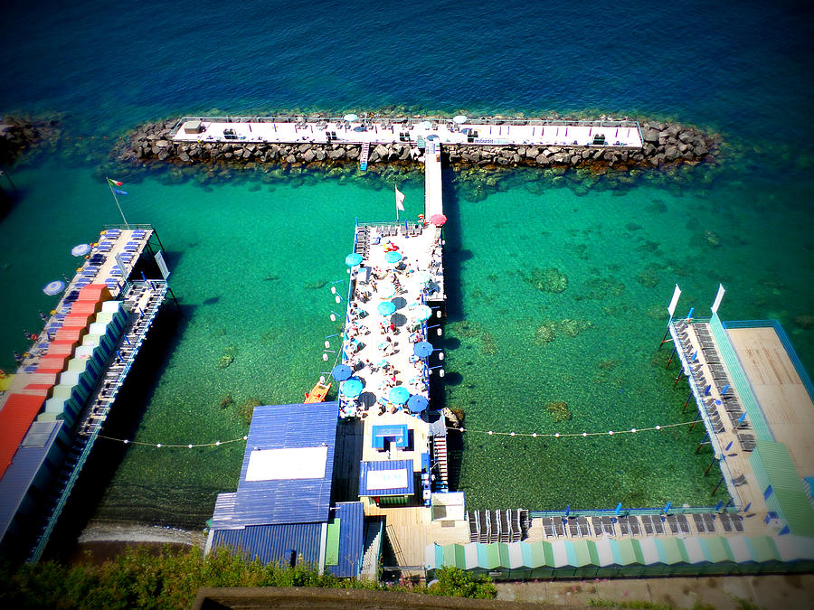 Sorrento Photograph - View From The Top by Kristie Rocca