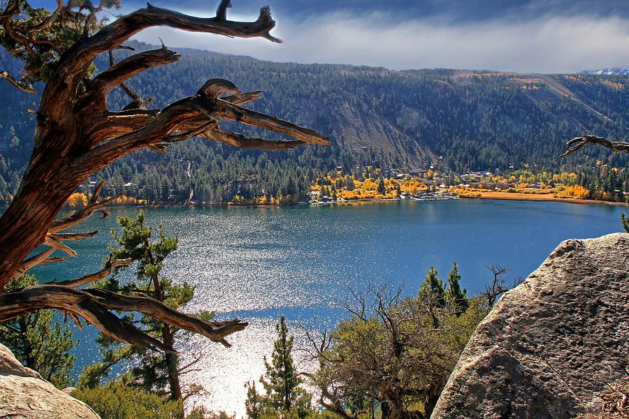 June Lake Photograph - View From The Top Of June Lake by Donna Kennedy