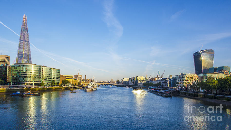View From Tower Bridge Photograph