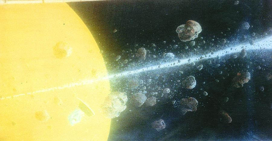 Spacescape Painting - View Master by A  Robert Malcom