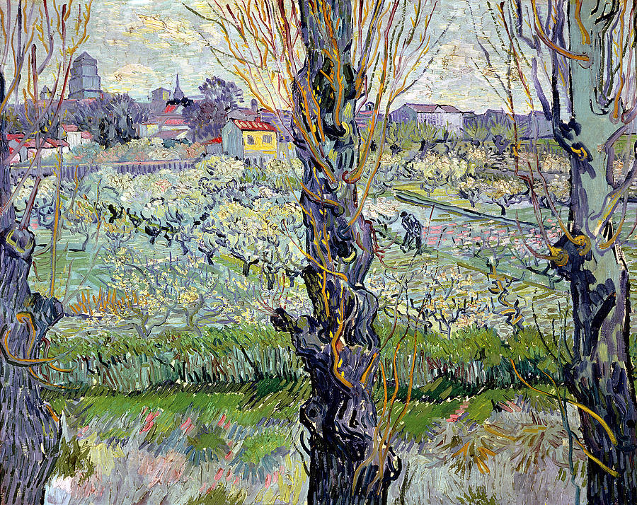 View Painting - View Of Arles by Vincent Van Gogh
