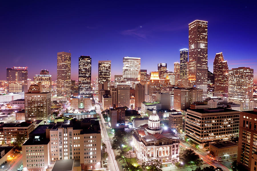 Horizontal Photograph - View Of Cityscape by jld3 Photography