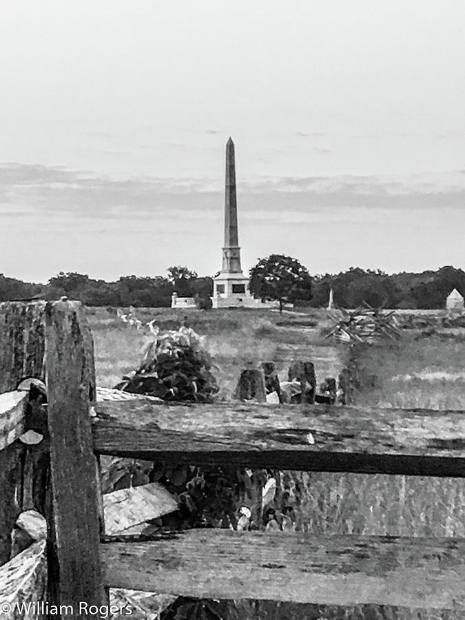 Gettysburg Pennsylvania Photograph - View Of Gettysburg  by William Rogers