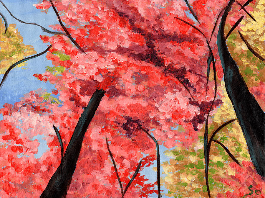 Nature Painting - View Of Heaven by Susan Odom