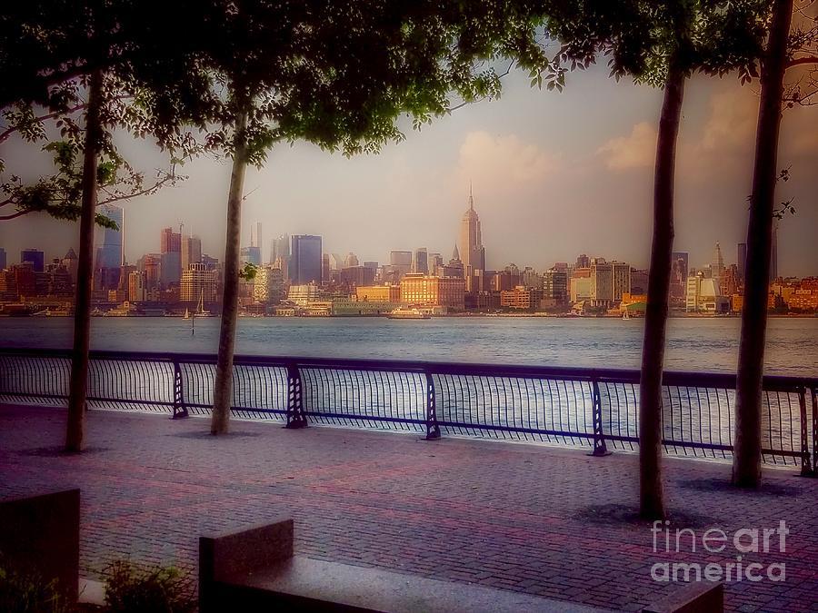 View Of Manhattan From Hoboken Photograph
