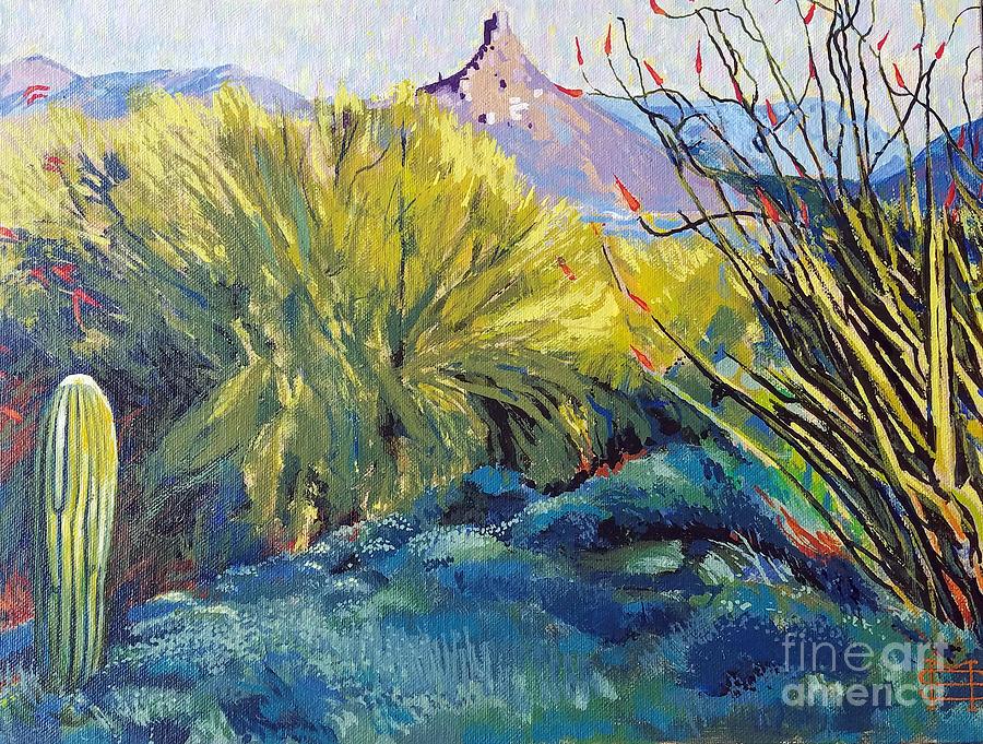 View of Pinnacle Peak by Michael Stoyanov